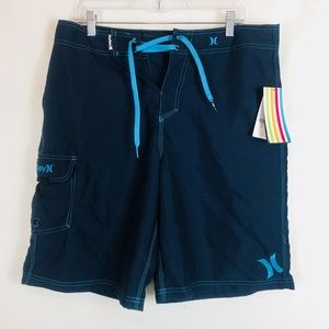 Hurley | Tie Front Board Shorts 33